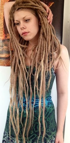 Long dreadlocks