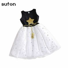 Lurryly Dress for Baby Girl,Kids Toddler Ruched Patchwork Tulle Party Birthday Sundress