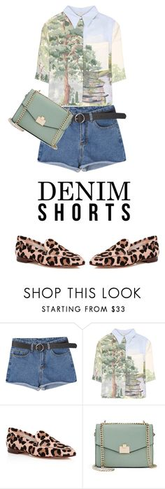 """denim 2"" by live-ska ❤ liked on Polyvore featuring STELLA McCARTNEY, Kate Spade, Jennifer Lopez and DENIMCUTOFFS"