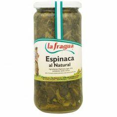 Espinacas al Natural, Calidad Extra, Caja de 12 Udes.  Caja de 12 Udes. (Precio por unidad = 0,933 €, IVA incluido). - Origen: Navarra, Peso bruto: 1020 gr., Peso neto: 660 gr., Peso escurrido: 425 gr., Envase: Tarro 720 - See more at: http://www.chefmayorista.eu/index.php?id_product=159&controller=product&id_lang=1#sthash.WeglCmhp.dpuf