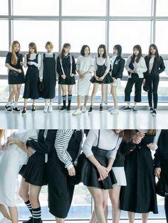 Korean fashion Black & white