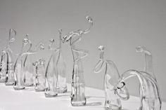 120 Days by Damien Ortega's (120 variations of a Coca-Cola bottle)