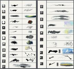 Several home-made brushes for Photoshop, which I sometimes use. Maybe will be useful for someone Brushes Photoshop Me, Photoshop Brushes, Photoshop Tutorial, Digital Painting Tutorials, Digital Art Tutorial, Art Tutorials, Brush Sets, Inspirational Artwork, Illustrator Tutorials