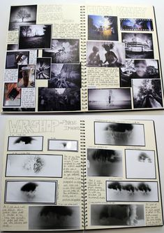 AS Photography, A3 White Sketchbook, Brainstorm, Canning Pinhole Camera Research , Thomas Rotherham College, 2014-15