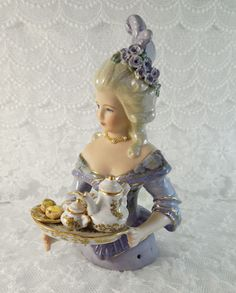 Porcelain Stories From China To Europe Antique Dolls, Vintage Dolls, Porcelain Dolls Value, Half Dolls, China Dolls, Ribbon Work, Doll Head, Sewing Notions, Beautiful Dolls