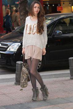No heels - No party: Soft Pink.    #Zara #pink #uterque #camuflaje #camo #rock #ohkko #outfit #look