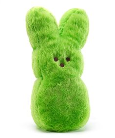 This Green Peeps Shaggy Bunny Plush by PEEPS® is perfect! #zulilyfinds
