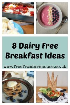 Trendy Ideas Dairy Free Breakfast Ideas For Toddlers Dairy Free Recipes For Kids, Dairy Free Snacks, Dairy Free Breakfasts, Healthy Breakfasts, Breakfast For Kids, Breakfast Recipes, Breakfast Ideas, Eat Breakfast, Brunch Recipes