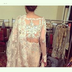 #ammarkhan #PFDCbridalweek2014 #luxury #sari