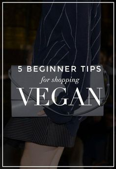 How to Shop Vegan