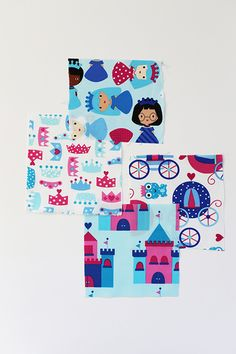princess life fabric by ann kelle