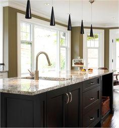 Thorough review of every possible kitchen countertop material - marble, limestone, soapstone, granite, corian, laminate, quartz...