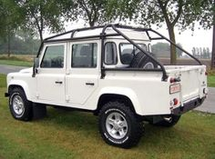 Nene Overland - Safety Devices full external cage for the 110 double cab,original tilt can still be used with this cage.