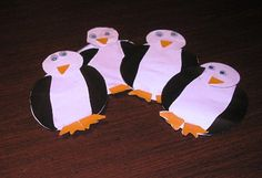 Penguin Craft with pattern