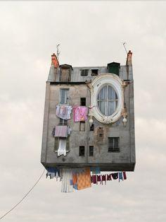 Maison volante - Laurent Chehere