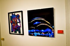 Artists: Eric Ernst and Mike Reale showing at 4ART Gallery / Ross Contemporary located inside of the Zhou B Art Center...