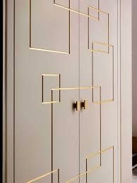 Image result for wardrobe with leather handle