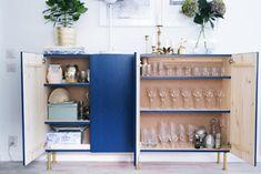 19 Best IKEA IVAR Storage Hacks: IKEA IVAR Bar Hack