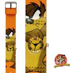 Ceas de copii Looney Tunes LN17 Caracteristici produs: Stil: Casual-Sport Mecanism: Quartz Display: Analog Rezistenta la apa: 21-50 m Garantie: 2 ani Forma carcasa: Rotunda Dimensiune carcasa: 23x28 mm Grosime carcasa: 12 mm Model: LN17Producator: Looney Tunes