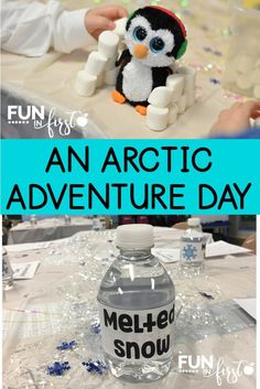 These ideas for transforming a classroom into an Arctic Adventure are great.