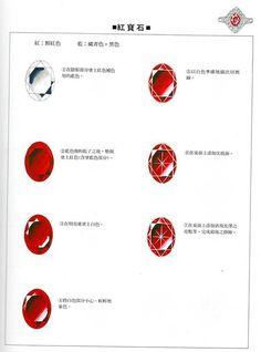 相册详情:珠宝金属基本画法 - 豆瓣