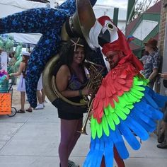 Parrot Mask and Wings: 11 Steps (with Pictures) Parrot, Wings, Fabric, Red, Pictures, Design, Parrot Bird, Tejido, Photos