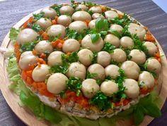 Sałatka Leśna polana - Blog z apetytem Baked Potato, Main Dishes, Food And Drink, Menu, Potatoes, Eggs, Baking, Breakfast, Ethnic Recipes