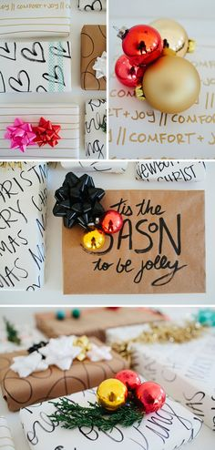 DIY Gift Wrapping Ideas     Inspirational Wrapping Paper | walk in love.