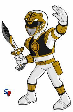 Mighty Morphin Power Rangers; White Ranger