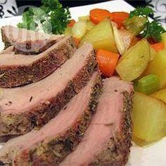 Lombo de porco assado com batatas @ allrecipes.com.br