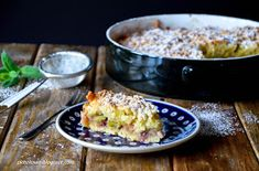 płaszkowo: Ciasto z rabarbarem i jabłkami Macaroni And Cheese, Ethnic Recipes, Blog, Mac And Cheese, Blogging