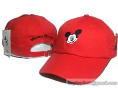 super popular bd034 55cdc DISNEY Mickey Mouse Caps Curved Hats Cartoon Adjustable Cap Red only  US 8.90 - follow. Mickeys CapsMlb ...