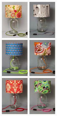 El Rincón Vintage de Karmela: Hoy tocan 15 DIYs con video incluído, para crear tu propia lámpara.