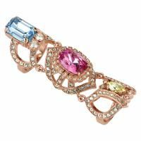 Loftasia - Luxury, High-end and Boutique Jewellery for Hotels and Resorts. theloftasia.com. PAV GEMSTONE KNUCKLE RING