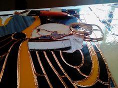 Mesa Taller San Francisco de Borja Iglesia Natividad de Nuestra Señora Turís CATEDRALA.es vidrieras artísticas stained glass decorative windows vitrall ecclesiastic religious art