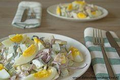 De keuken van Martine: Goud van oud: Ei van Columbus salade