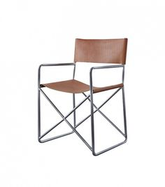 CB2 Leather Director's Chair ($329)