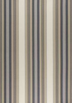 SHERIDAN STRIPE, Charcoal and Linen, W80070, Collection Woven 9: Plaids & Stripes from Thibaut