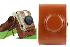 Brown-Leather-Case-Bag-protector-For-Lomography-LomoInstant-Camera-Sanremo