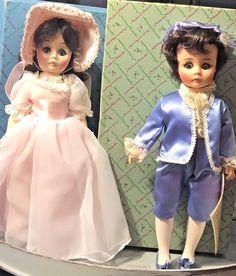 "Vintage Madame Alexander Pinkie 1350 & Blue Boy 1340 12"" Dolls 1974-75  #MadameAlexander"