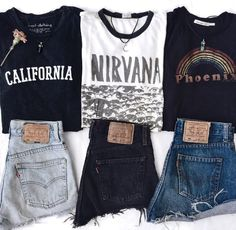 45 Best Fashion Outfit Ideas For Women Summer Outfits Winter Outfits Autumn Outfit Spring outfits School College Office Party outfits For Women Grunge Outfits, Punk Outfits, Teen Fashion Outfits, Retro Outfits, Cute Casual Outfits, Vintage Outfits, Casual Teen Fashion, Fashion Ideas, 50 Fashion