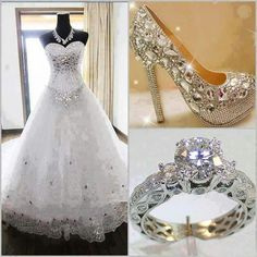 Stunning wedding bling