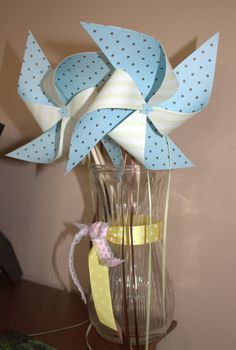 Paper Party Pinwheels by BetterTogetherEvents on Etsy