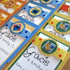 Elmo party invitelove the wording party time pinterest since grace loves sesame street we chose a sesame street the filmwisefo Choice Image