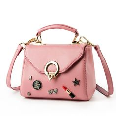 Women Messenger Bag Cute Cartoon Coin Purses Handbags Lady Shoulder Bag Hobo Bag
