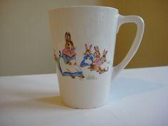 Easter Bunnies Nursery Wear Mug, Bunny Mug.