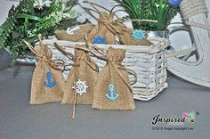 25 x Mini Hessian Favour Bags wedding Baby by inspiredcompany4u