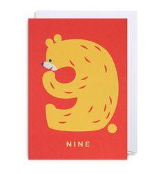 NUMBER NINE BEAR for Lagom Design UK