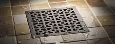 Craftsman StyleDrain - Not your ordinary  shower drain!