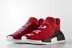 Pharrell Williams x adidas NMD Human Race Will Release in Red - EU Kicks: Sneaker Magazine